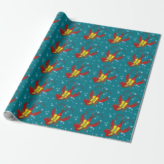 Crawfish 11 wrapping paper