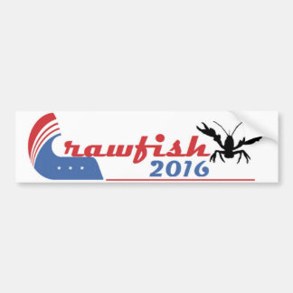 Crawfish 2016 Bumper Sticker Car Bumper Sticker