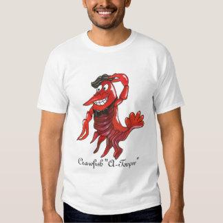 "Crawfish ""A-Toupee"" Tee Shirt"