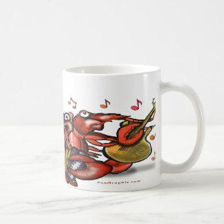 Crawfish Band Coffee Mug