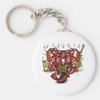 Crawfish Band Keychain