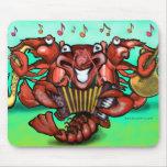 Crawfish Band Mouse Pad