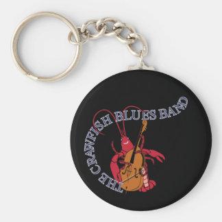 Crawfish Blues Band Bassist Basic Round Button Keychain