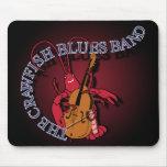 Crawfish Blues Band Bassist Mousepad
