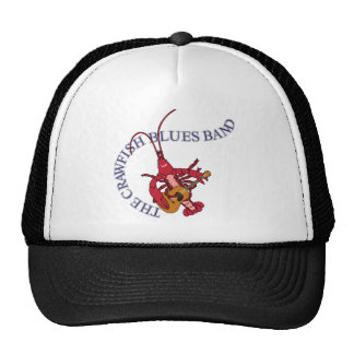 Crawfish Blues Band Guitar Player Hats