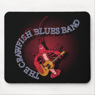 Crawfish Blues Band Guitar Player Mouse Pad