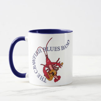 Crawfish Blues Band Guitar Player Mug
