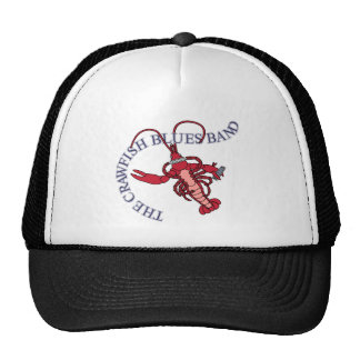 Crawfish Blues Band Harmonica Trucker Hat