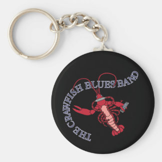 Crawfish Blues Band Harmonica Keychain