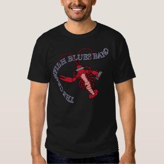 Crawfish Blues Band Harmonica T Shirt
