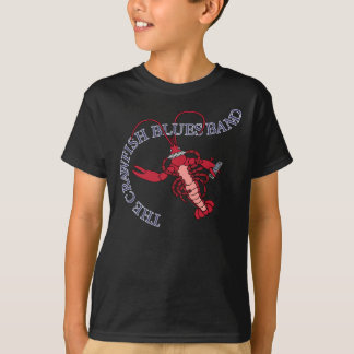 Crawfish Blues Band Harmonica T-Shirt