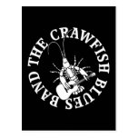 Crawfish Blues Band (white) Postcard
