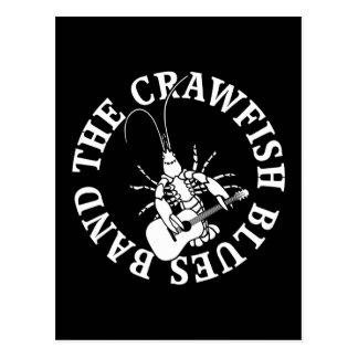 Crawfish Blues Band (white) Postcard
