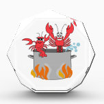 """Crawfish Boil Acrylic Award<br><div class=""""desc"""">Bon App&#233;tit! This design set is perfect for the chefs in your life!  Make a perfect gift every time with this design on aprons,  towels,  napkins,  place mats,  potholders and more!</div>"""