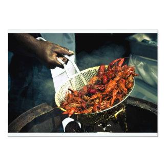 Crawfish Boil Custom Invites