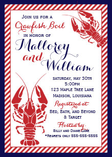 Crawfish Boil Invitations Zazzle