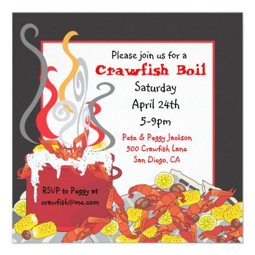 Crawfish Boil Invitation is amazing invitation template