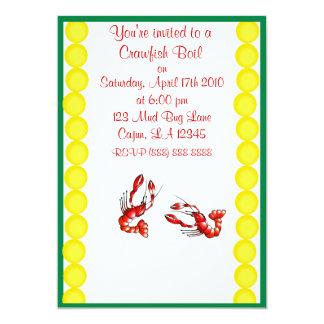 Crawfish Boil Party Invitation
