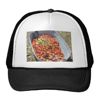 Crawfish boil. trucker hat