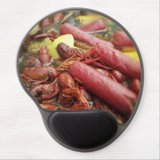Crawfish Boil with Redhots and Corn Photo Gel Mouse Pad