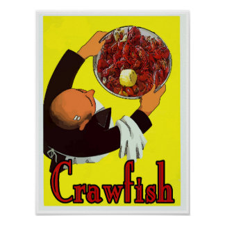 Crawfish: Boiled Platter Poster