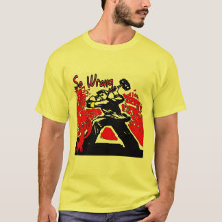 Crawfish Cartoon T-Shirt