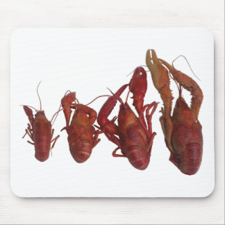 crawfish cell phone signal mouse pad