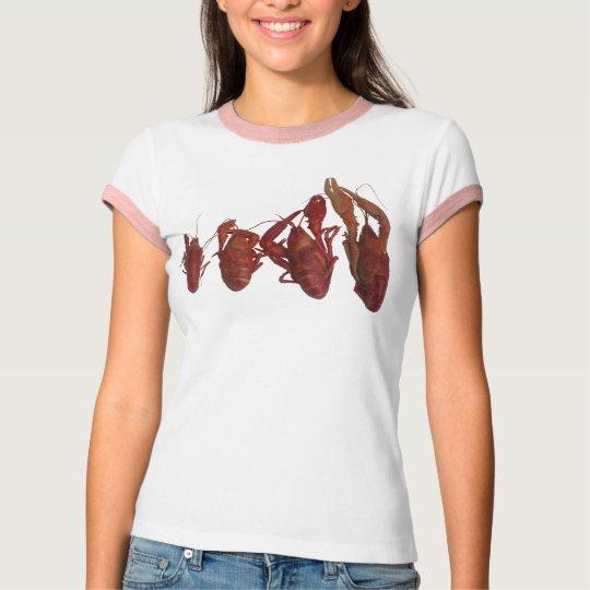 crawfish cell phone signal T-Shirt