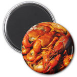 Crawfish Claws 2 Inch Round Magnet