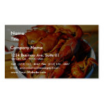 Crawfish Claws Business Card Templates