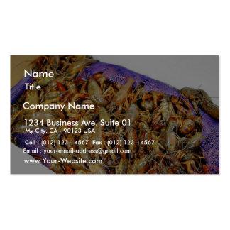 Crawfish Crawdads Business Card Templates