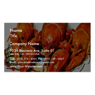 Crawfish Crawdads Craytfish Double-Sided Standard Business Cards (Pack Of 100)