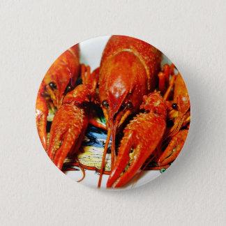 Crawfish Crawdads Craytfish Pinback Button