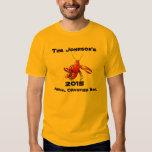 Crawfish Crayfish Boil Annual Family Party Custom Tee Shirt