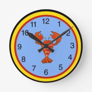 Crawfish, Crayfish, Lobster Clock