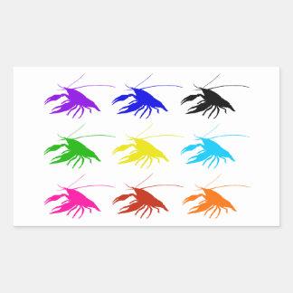 Crawfish (Crayfish) Rectangular Sticker