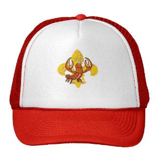Crawfish Fleur De Lis Trucker Hat