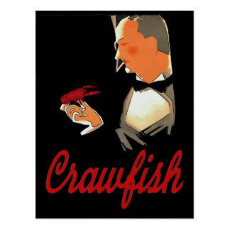 Crawfish Formal Attire Postcard