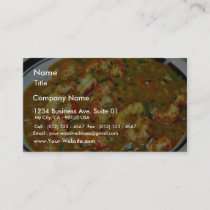 Crawfish Gumbo Business Card