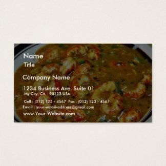 Crawfish Gumbo Business Card