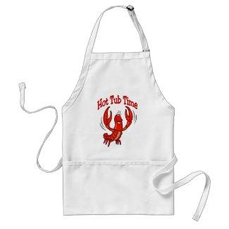 Crawfish Hot Tub Time apron