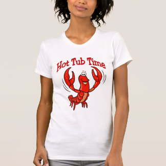 Crawfish Hot Tub Time T Shirt