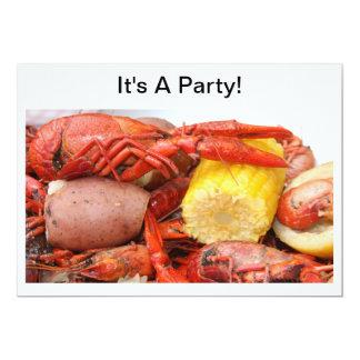 crawfish invitation