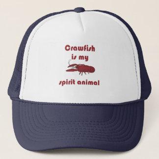 Crawfish Is My Spirit Animal Funny Cajun Hat