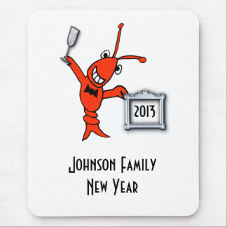 Crawfish / Lobster 2013 Cheers Mouse Pad