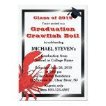 Crawfish/Lobster Boil Graduation Party Invite Announcements