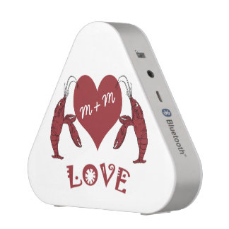 Crawfish Lobster Heart Bluetooth Speaker