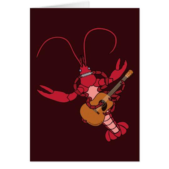 Crawfish Music Card