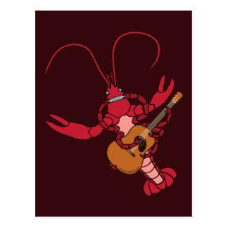 Crawfish Music Postcard