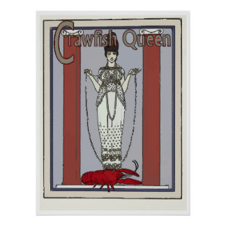 Crawfish Queen, add text Poster
